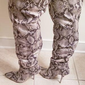 Snakeskin Boots!